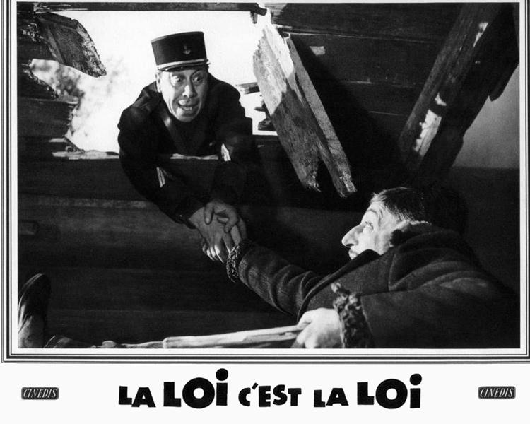 Подкаст: комедия столетия «Закон есть закон».